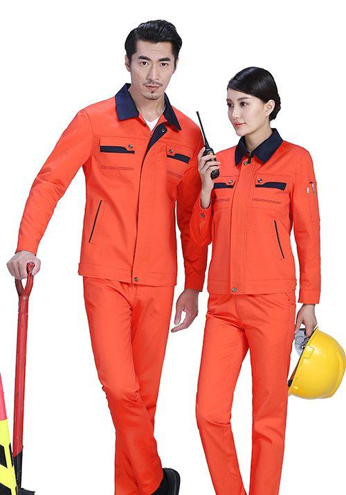 企业定做工作服的颜色如何选择?